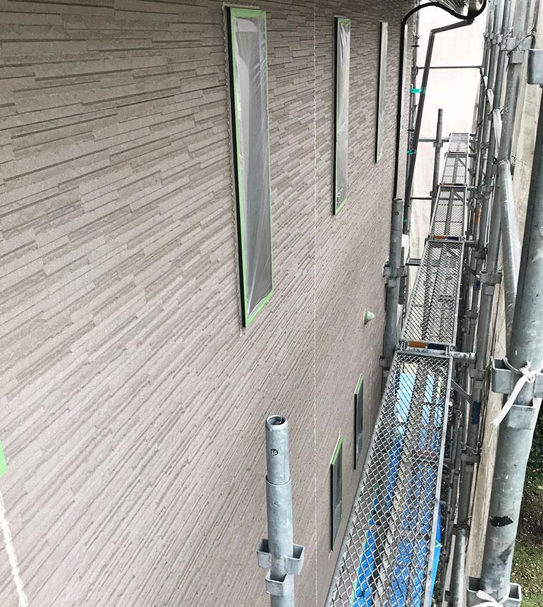 外壁・屋根施工の流れ