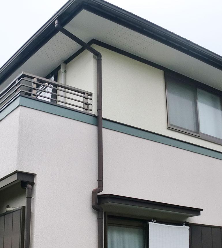 塗装して10年後の住宅